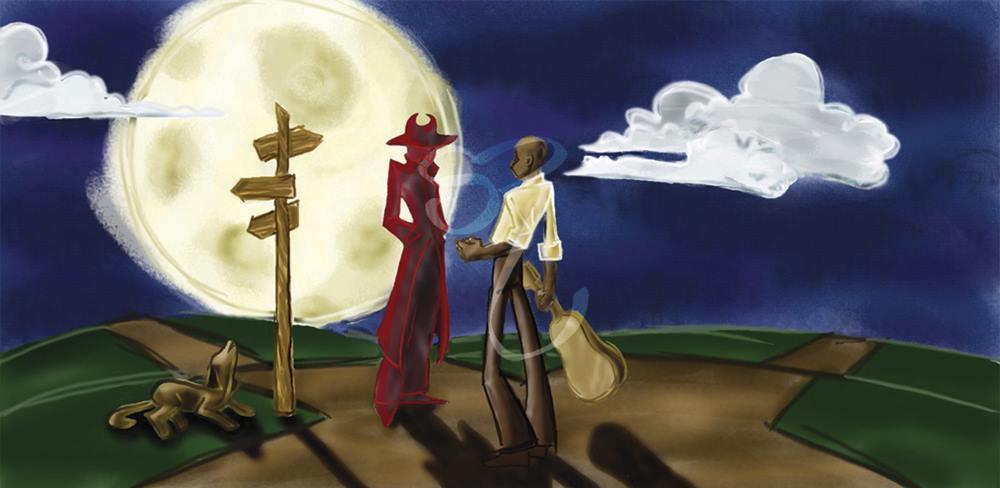 robert johnson deal with devil blues